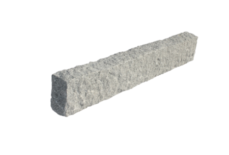 Rød granitt blokker